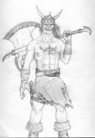 Warrior of the Demonic Eye by PictureThisDeviant