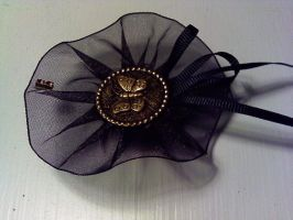 Victorian Butterfly Brooch by GothicDorothy