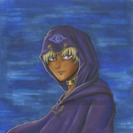 Marik - First Copic Marker Drawing by SunlessRise