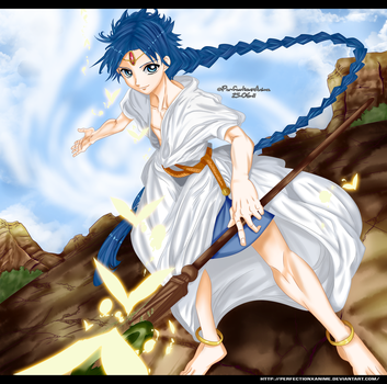 Magi: The Labyrinth Of Magic - Aladdin by Perfectionxanime
