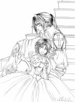 Albion Reunion - Trinity Blood by cafe-lalonde