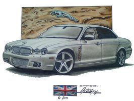 Jaguar XJ by SIMPSONARTISTRY