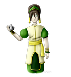 Toph Beifong - For PentaghastRogue by KaiyaAquamarine