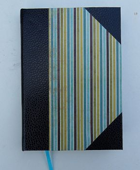 Blue and Green NoteBook by AtelierOcarinah
