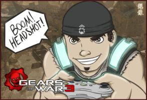HWC - Gears of War 3 by souzou-inc