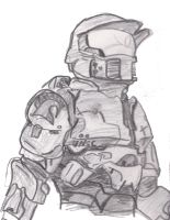 Master Chief - Halo by Iceey23