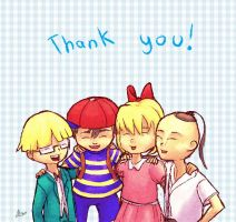 Earthbound: Thank you! by Pink-Shimmer