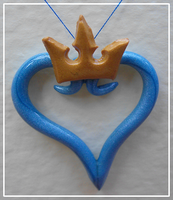 Kingdom Hearts Necklace :C: by FelineMyth