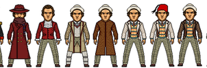 Evolution Of The Seventh Doctor by Stuart1001