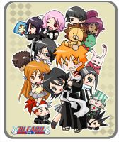 Bleach Group by tachiik