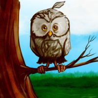 Owl see you later by cluis