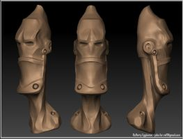 Speed Sculpt -- Robot by Rafferty-Eggleston