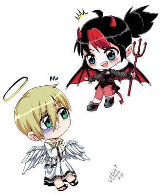 Angel Or Devil? by shock777