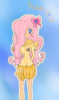 Human Fluttershy by Tcatgirl94