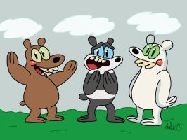 We Bare GrizzlyPandaIce Bears by TheIransonic