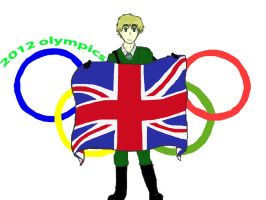 England sponcers the olympics 2012 by Redwolf52194