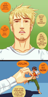 Colin does not approve by SosinSoup
