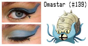 Pokemakeup 139 Omastar by nazzara