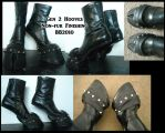Non Fur Hoof Boots by Magpieb0nes