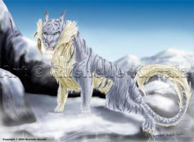 Snow Taraion by TheDragonofDoom