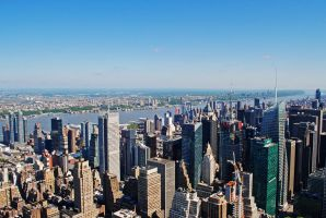 New York cityscape by LucieG-Stock