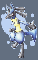 Lucario by KittiRawr