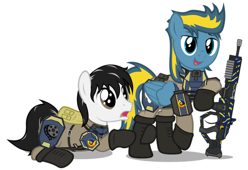 PS2 Ponies - New Conglomerate by MrLolcats17