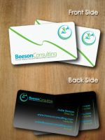 Consulting Agency - Business Card 2 by SimonDiff