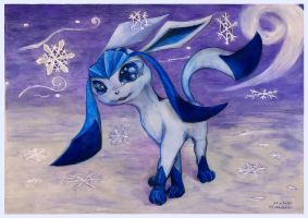It is snowy by SSsilver-c