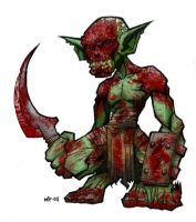 Bloody Goblin by Morbidmic