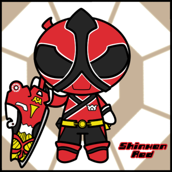 Side: Puff - Shinken Red by BucketHat