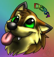 Cant Brain To-day.  I Haz Teh Derp. by Nashoba-Hostina