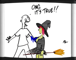 Witch Tit by adamcloud
