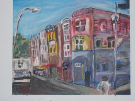 South Street, Philly by purplpixi