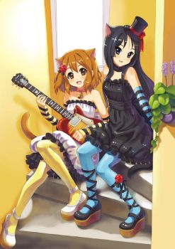 k-on by swdd-cat