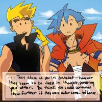 Kittan and Kamina Game HAHA by SanoStar