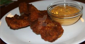 Pretzel Fried Chicken by SnapColorCreations