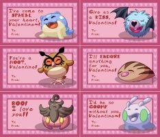 Pokemon Valentines part 1 by RasTear