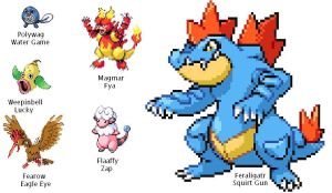 Pokemon SoulSilver Team 5.24.2012 by SpiderMatt512