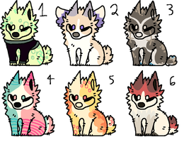 Dog Adopts - Closed by PearlEvil