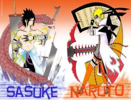 NaruSasu Combination Arsenal by solarwind06