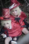 Kagamine Twin - Trick and Treat 1 by 17th-Jokers