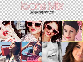Icons Mix Selena's by selexsele