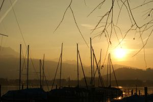 Boat Masts 1 by Stichflamme-Stock