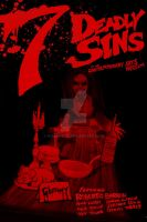 7 Deadly Sins: Gluttony Poster by Rubber-toe