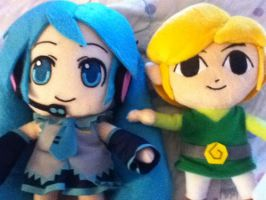 New Plushies! :D by WinterTheGlaceon45