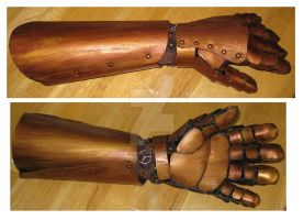 STEAMPUNKERY-Faux Prosthetic 2 by Fire-Follower