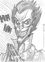 JOKER SKETCH by DRAKEFORD