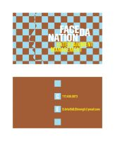 face da nation business card by unclone