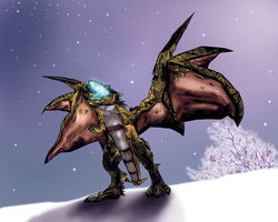 Time Lost Proto-drake by Fyerfly